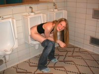 Trashed Girlfriends Pissing 1