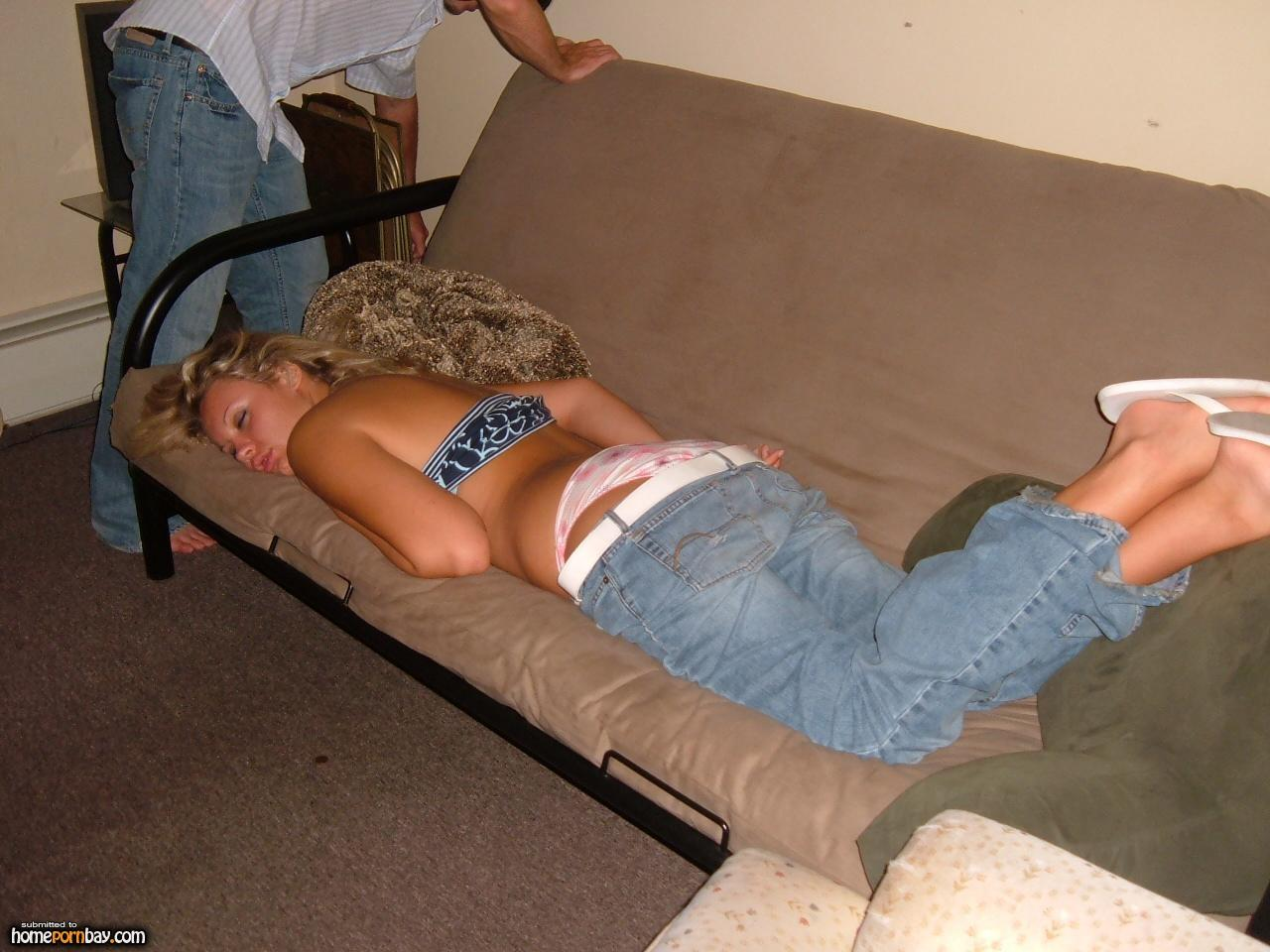 passedout party nude