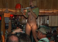 Hot n naked bar dancing action