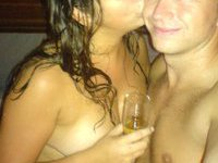 Real amateur couple stolen private pics