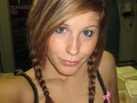 Hot self pics from sexy amateur teen