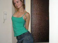 Young amateur wife