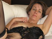 Amateur posing mature wife