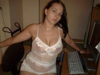 Busty amateur babe private pics