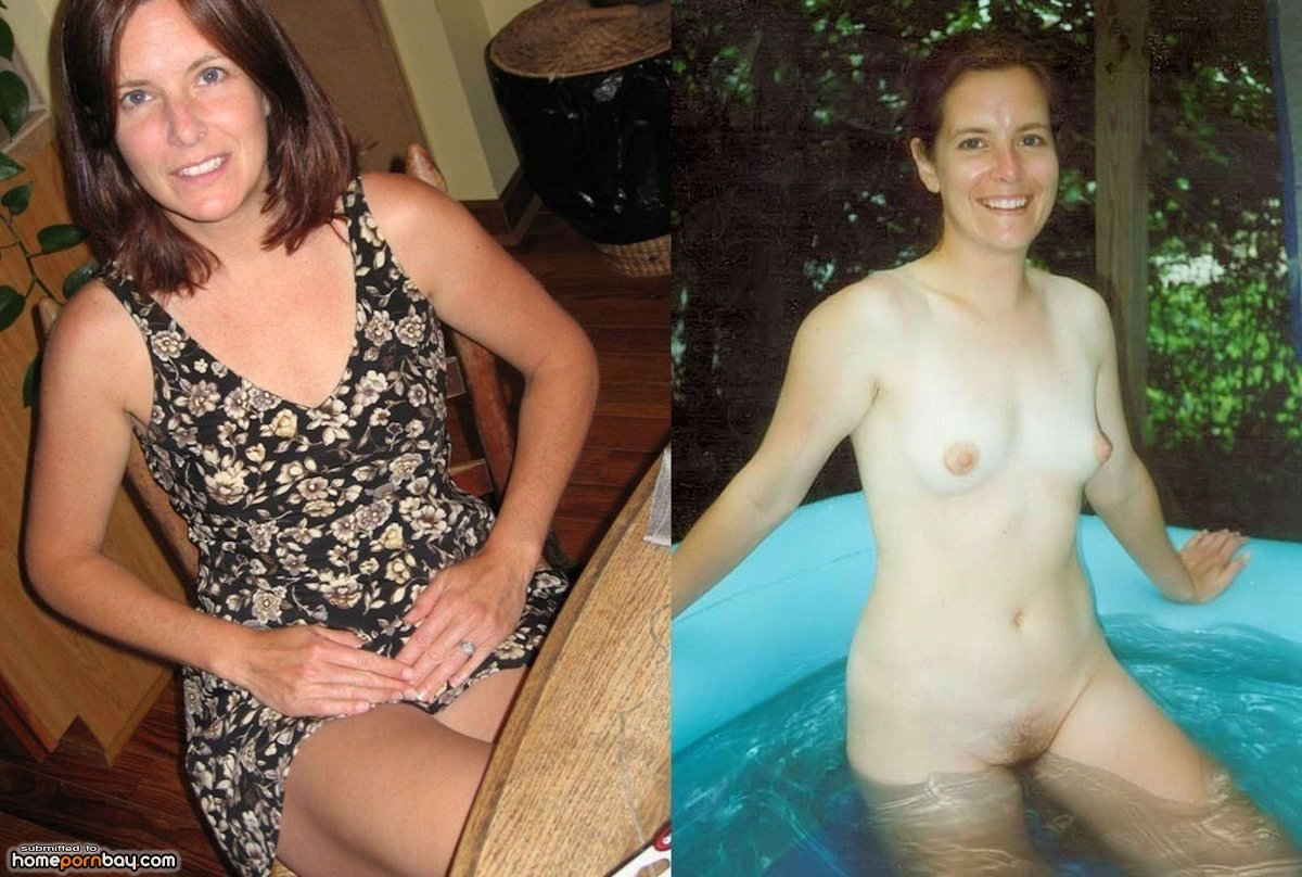 milfs dressed - undressed - mobile homemade porn sharing