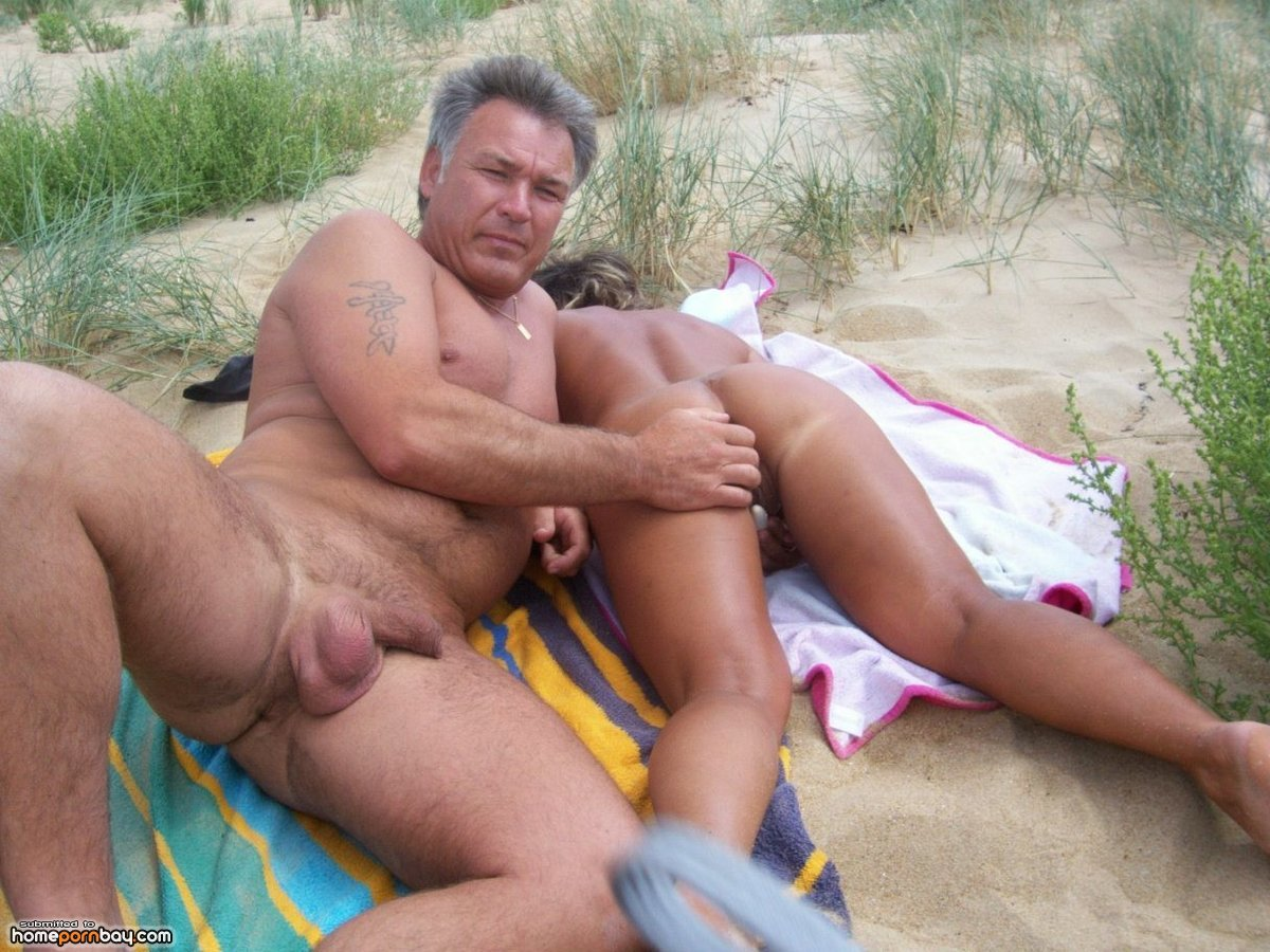 sex on the beach of mature couple - mobile homemade porn sharing