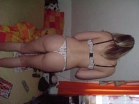 Blonde amateur wife exposed
