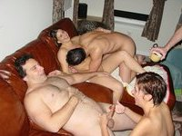Nice holiday swinger fun