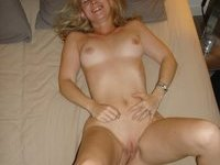 hotel room fun with blond GF