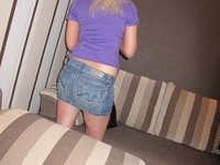 Sex with amateur blonde wife