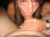Blowjob from amateur wife