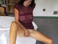 Sexlife of sexy brunette wife