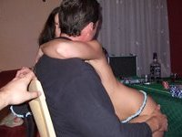 Real amateur couple private pics collection