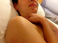 Milf nude at home