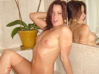 private pics of two sexy GFs at bath