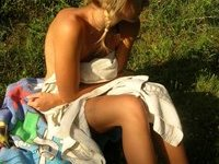 Real amateur couple homemade pics