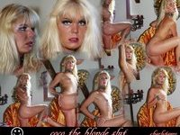 Captions and fake for Coco the Blonde Exposed Web Slut and Whore