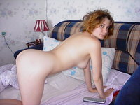 Redhead amateur wife exposed