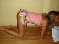 Horny young amateur GF