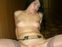 Brunette amateur wife homemade pics