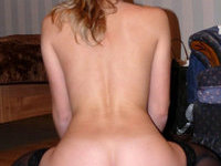 Russian amateur blonde wife sexlife