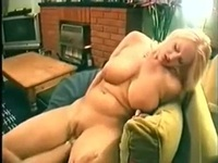 Pretty blonde female make sex fun with a dude on a reality amateur show,enjoy