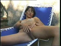 Solo model Cathy is ready to get off