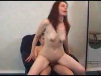 So pretty redhair milf make sex fun with the newspaper delivery young guy,damn
