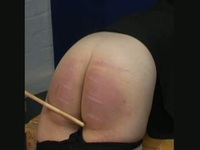 Spanking her ass all night long