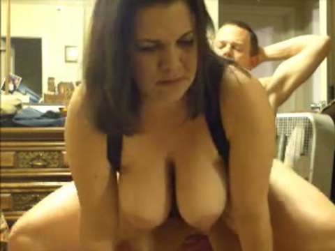 Crazy wife backward blow job