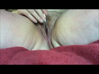 Hairy pussy needs some fingering