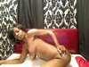 Ebony sizzler flaunts her curvaceous body