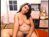 Chubby Indian babes flaunts her bod on webcam