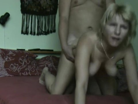 Play 'Blonde slut filled with a mature hunks rod'
