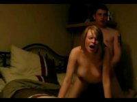 Experienced blonde recorded while fucking