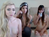 Teen girl have group sex
