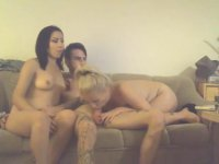 A very hot threesome with 2 women