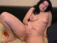 Chick is stripping nude