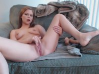 A slut is doing anal with a dildo