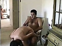 hot couple again at home , afterwork fun . another hot quick episode