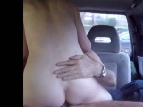 Milf sex in a van