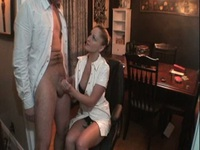 Stunning nurse has the cure for his cock