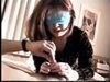 So pretty blindfold japanese wife suck cock then a great fucking session,enjoy