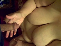 Pretty chubby blonde milf play with husband cock monday night at home,enjoy