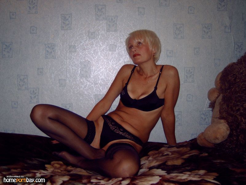 Russian Blonde Short Hair