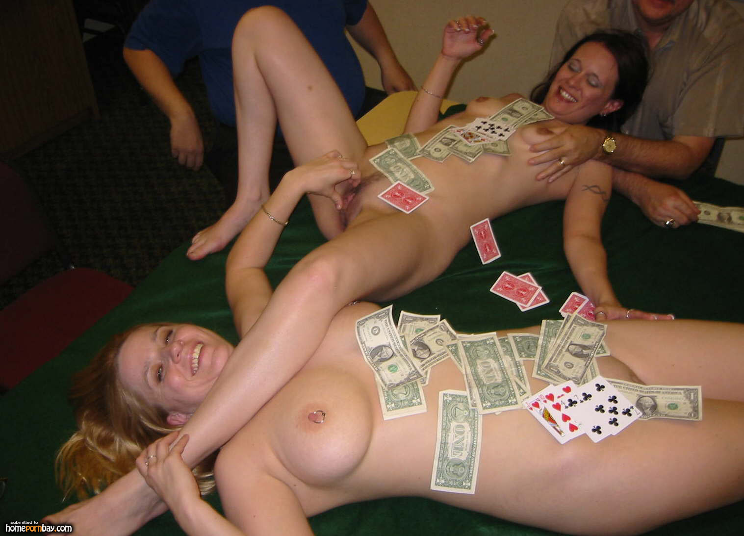 Homemade strip poker