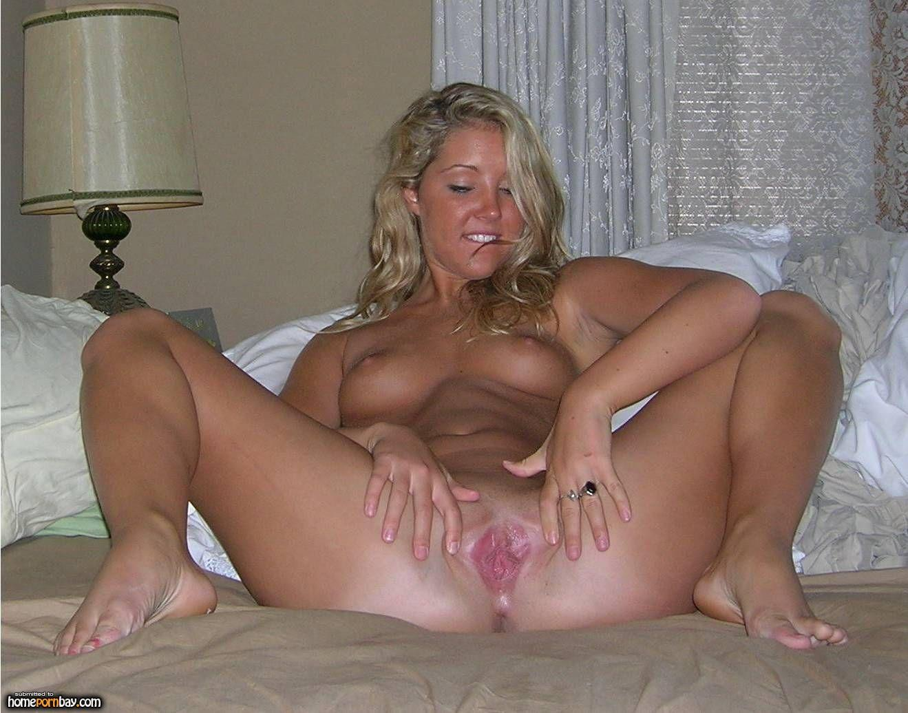 Spread eagle girl naked
