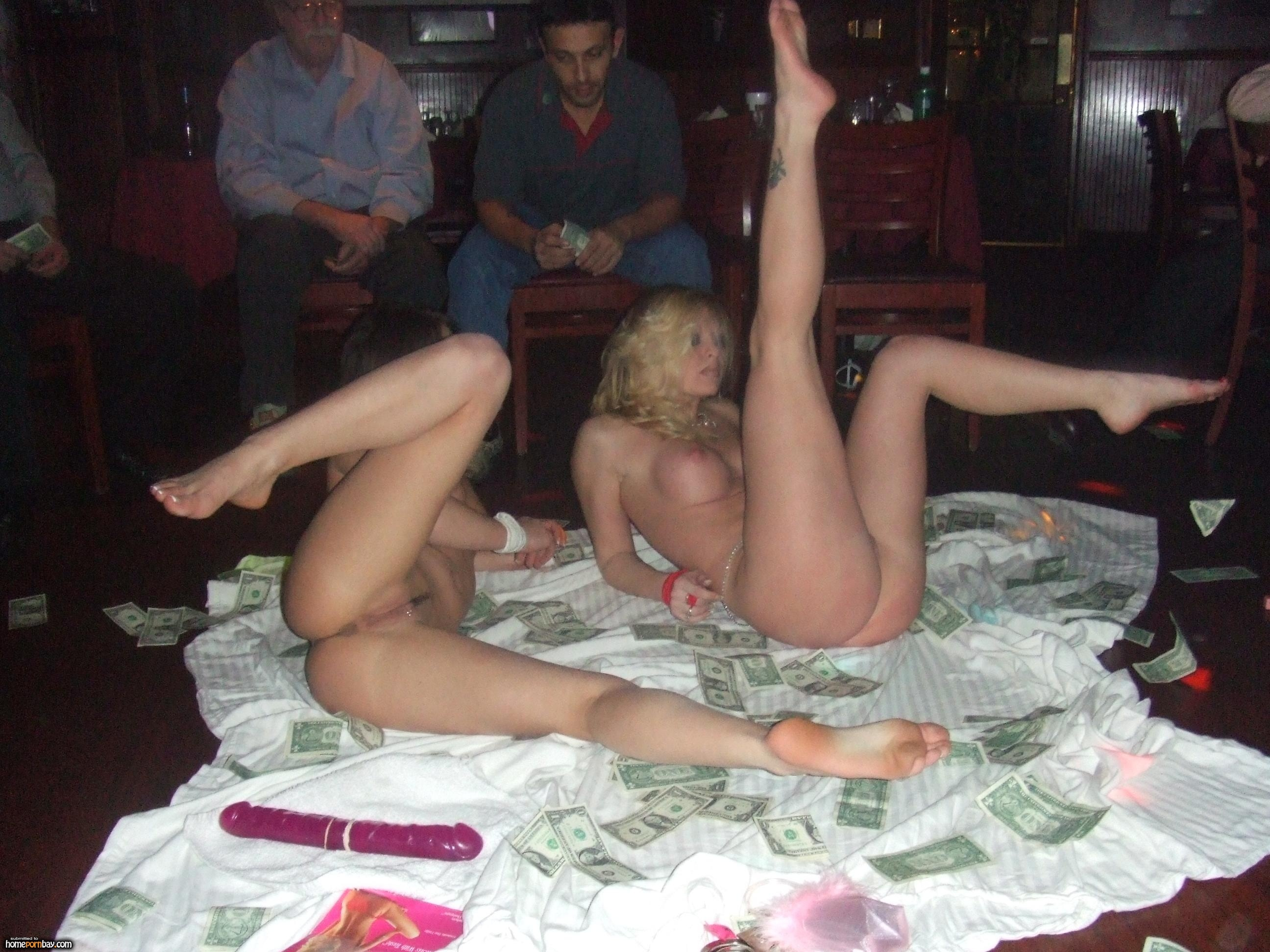 Big booty strippers fucked