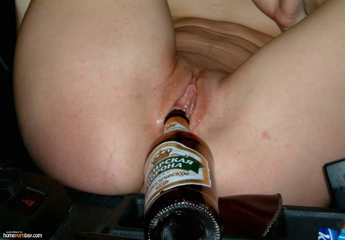Sex grl beer in vagina melons