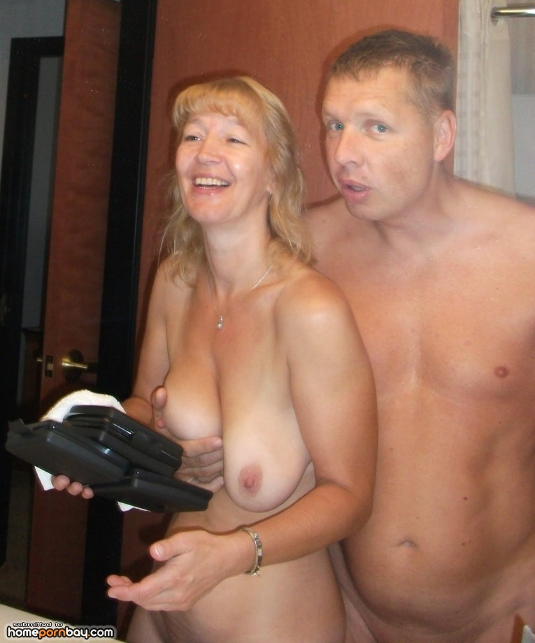 image Amateur french couple with a busty milf getting sodomized